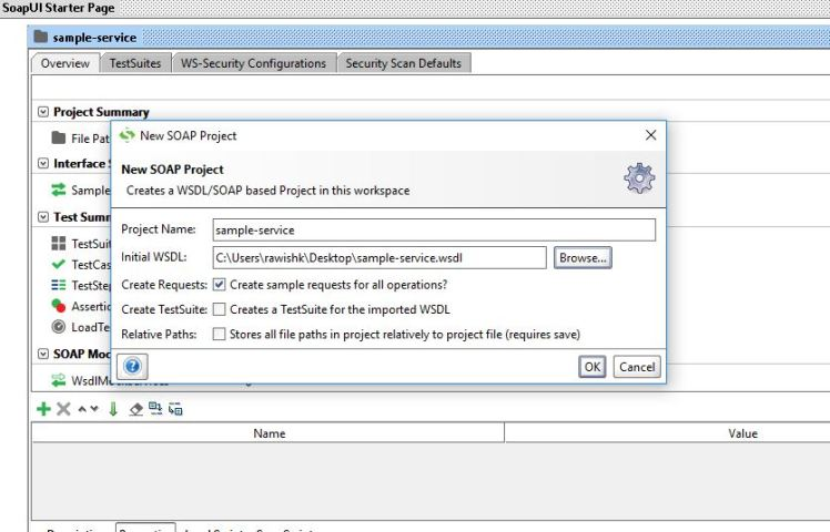 How to setup a mock service in SOAP UI  See CRM output XML