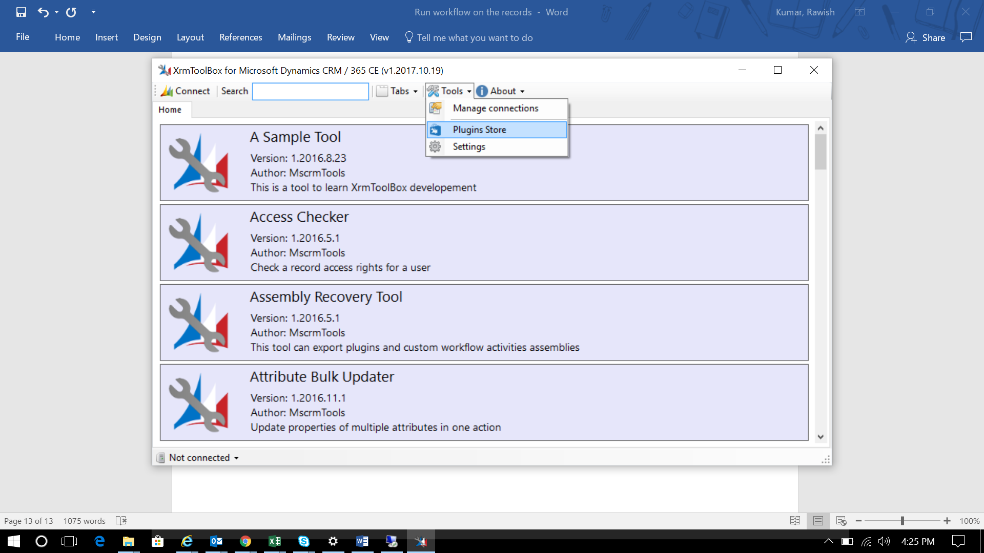 Top Five Dynamics 365 Bulk Workflow Tool - Circus