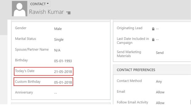 Linq query to find customers with birthday today – Passion