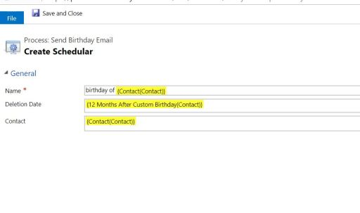 Linq query to find customers with birthday today – Passion Dynamics