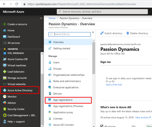 how to connect to dynamics crm using web api using OAuth 2 0