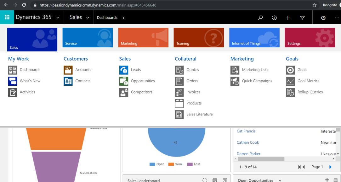 Passion Dynamics – Microsoft Dynamics CRM blogs by Rawish Kumar
